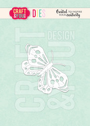 Craft & You stanssi Butterfly 2