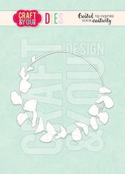 Craft & You stanssi Eucalyptus Wreath