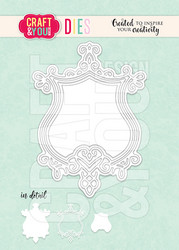 Craft & You stanssi Decorative Frame 2