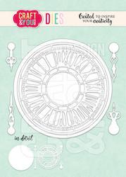 Craft & You stanssi Vintage Clock
