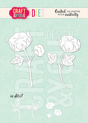 Craft & You stanssi Cotton Flower