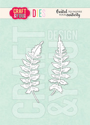 Craft & You stanssi Mini Ferns