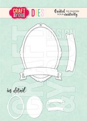 Craft & You stanssi Mini Frame