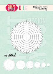 Craft & You stanssi Mini Doily