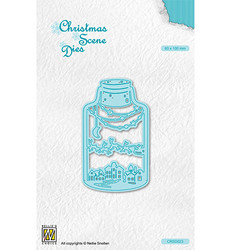 Nellie's Choice stanssi Wintery Scene In Bottle