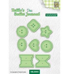 Nellie's Choice stanssi Buttons