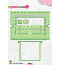 Nellie's Choice stanssi Sliding Card