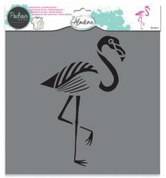 Aladine sapluuna Flamingo, 28 x 28 cm