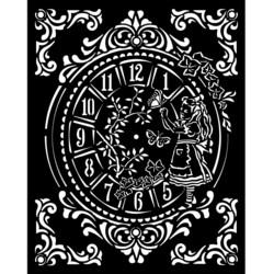 Stamperia sapluuna Alice, Clock