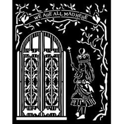 Stamperia sapluuna Alice, Door