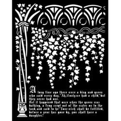 Stamperia sapluuna Sleeping Beauty, Ivy and History