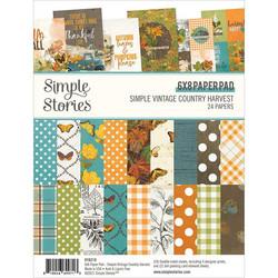 Simple Stories Simple Vintage Country Harvest -paperipakkaus