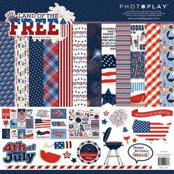 PhotoPlay Land of The Free -paperipakkaus, 12