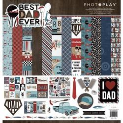 PhotoPlay Best Dad Ever -paperipakkaus, 12