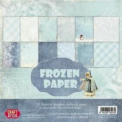Craft & You paperipakkaus Frozen, 12