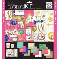 Mambi Kit paperipakkaus Friends, 12