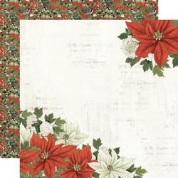 Simple Stories Simple Vintage Rustic Christmas skräppipaperi Peace On Earth