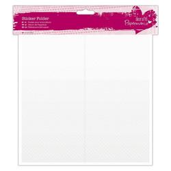 Papermania Sticker Folder Clear -säiltyskansio ääriviivatarroille