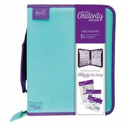 Docrafts Creativity Essentials Stamp Storage Folder -säilytyskansio