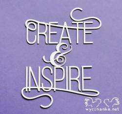 Chipboard tekstileike, Create & Inspire, 1 kpl