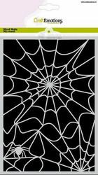 CraftEmotions sapluuna Halloween Spiderweb, A5