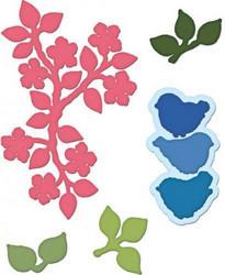 Heartfelt Creationsin Birds and Blooms -stanssisetti