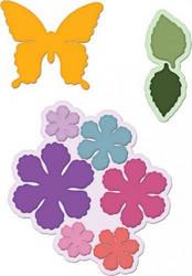 Heartfelt Creationsin Botanical Wings -stanssisetti