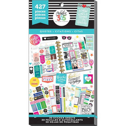 Mambi Happy Planner Value Pack -tarrapakkaus Quotes