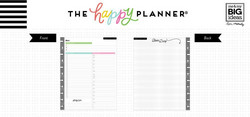 Mambi Big Happy Planner -paperipakkaus Daily