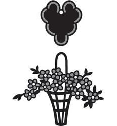 Marianne Design kukkakori stanssisetti