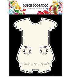Dutch DooBaDoo Card Art Dress vaatteet sapluuna