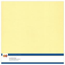 Kartonki, 30.5 x 30.5, sävy  Light Yellow