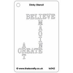 That's Crafty sapluuna Believe