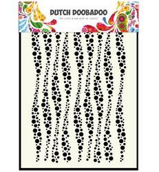 Dutch Doobadoo Wavy Stripe -maski