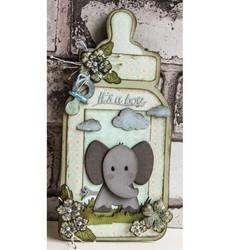 Dutch Doobadoo Baby Bottle -sapluuna, tuttipullo