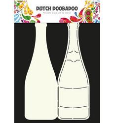 Dutch Doobadoo Champagne Bottle -sapluuna, shampanjapullo