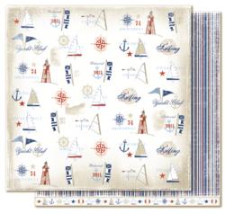 Maja Design Life By The Sea Marina -skräppipaperi