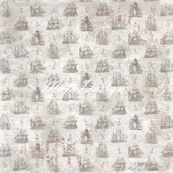 Maja Design Nyhavn Veteran Ships -skräppipaperi