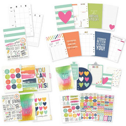 Simple Stories Carpe Diem Fitness Fitness A5 Planner -sivut