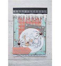 Marianne Designin stanssisetti Snowy Icicle, jääpuikot