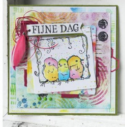 Marianne Design Tiny Mixed Media - Colourful paperikko