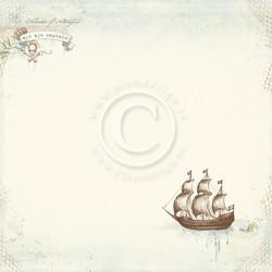 Pion Design Legends of the Sea skräppipaperi Aye aye captain