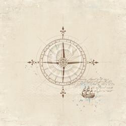 Pion Design Legends of the Sea skräppipaperi Go east