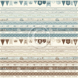 Pion Design Legends of the Sea skräppipaperi Borders
