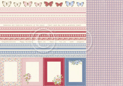 Pion Design Patchwork of Life skräppipaperi Borders