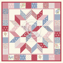 Pion Design Patchwork of Life skräppipaperi Family quilt