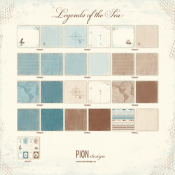 Pion Design kokoelma Legends of the Sea