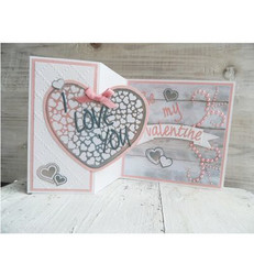 Marianne Design leimasin Heart XL