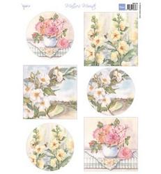 Marianne Design korttikuva-arkki Mattie's Roses