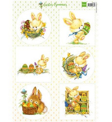 Marianne Design korttikuvat Easter Bunnies